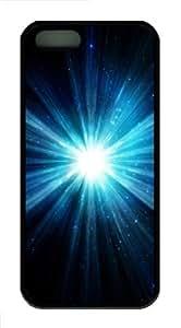 Blu ray 2 Custom iPhone 5s/5 Case Cover ¡§C TPU ¡§C Black