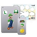 #3: Controller Gear Super Mario - Character Tech Decal Pack - Luigi - Nintendo Wii; GameCube