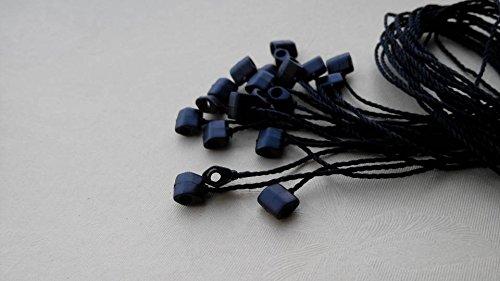 My brand 1000pcs black Hang tag Seal tag String tag Lock pin Lock cord tag