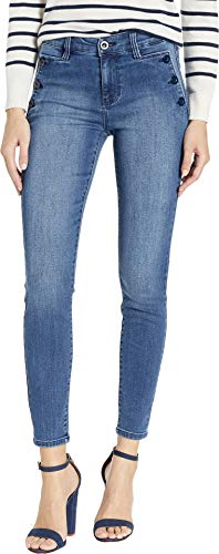 Liverpool Women's Abby Ankle Skinny Sailor Jeans in Eco-Friendly Denim in Medway Medway 8 28
