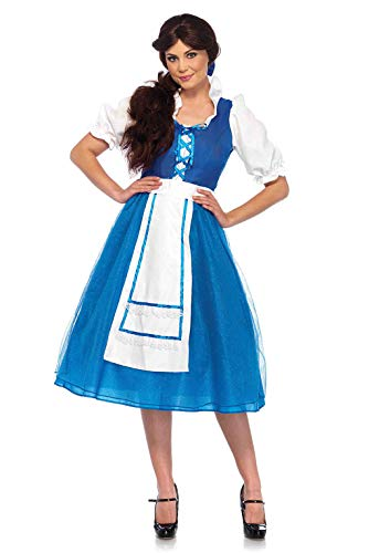 Character Couple Costumes (Leg Avenue Women's Costume, Blue/White,)