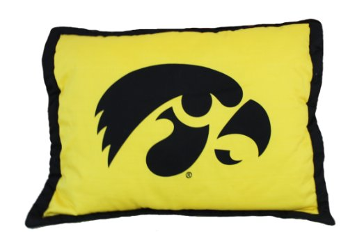 College Covers NCAA Iowa Hawkeyes Licensed Throw Pillow or Decorative Pillow, 20