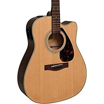 yamaha fx335c dreadnought acoustic electric guitar natural musical instruments. Black Bedroom Furniture Sets. Home Design Ideas
