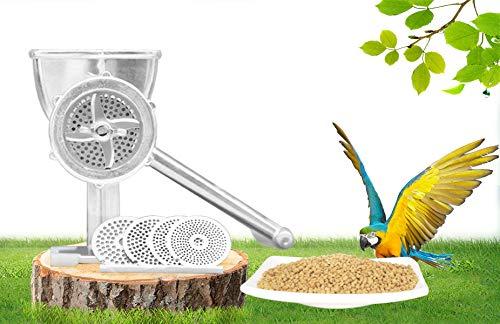 Manual Birds Fishing Bait Granulator Pelleter Animal Food Maker Pet Food Pellet Mell