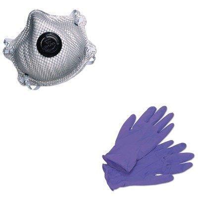 KITKIM55082MLX2400N95 - Value Kit - Moldex-metric, Inc. 2400N95 Series Particulate Respirator (MLX2400N95) and KIMBERLY CLARK PURPLE NITRILE Exam Gloves (KIM55082)
