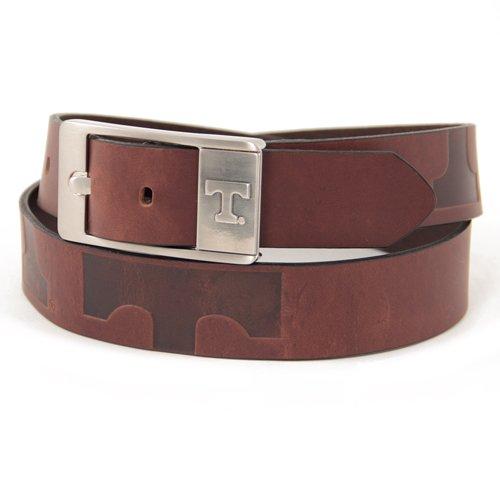 Tennessee Volunteers Leather Brandish Brown Belt