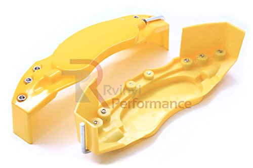 ABS Caliper Cover Set (2X) - Yellow Large