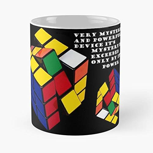 Rubiks Cube Dude Wheres Coffee Mugs Unique Ceramic Novelty Cup