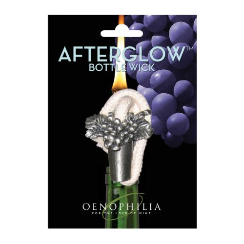 - Oenophilia Afterglow Bottle Wick - Grapes
