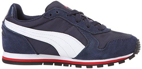 Jr V Runner High Shoe St Nl Puma Peacoat Risk White Red IpTAwq7P