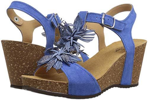 Step Blue Izetta Spring Suede Womens PpwZfAzq
