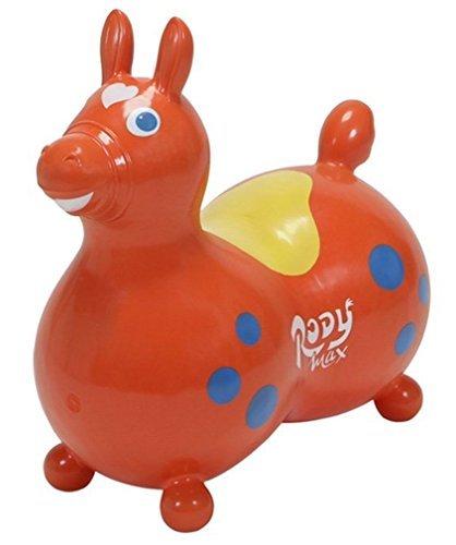GYMNIC 8005 Rody Horse Max, Orange Ride On