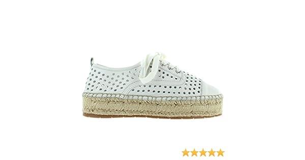 ef8f75e54fb72 J Slides Rileyy - White Leather Platform Espadrille Sneaker