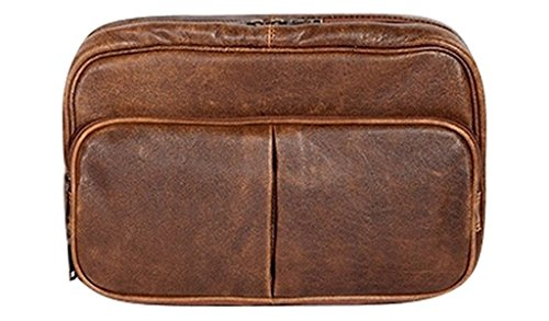 Scully 81st Aero Squadron Travel Kit (Antique Brown) by Scully