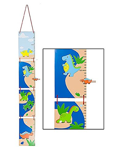 Kids Dinosaur Themed Height Growth Chart for Boys Bedroom or Baby Nursery Mousehouse Gifts MH-100442