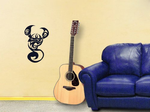 Wall Mural Vinyl Sticker Cute Tribal Tattoo Scorpions (Tribal Scorpion Tattoo)