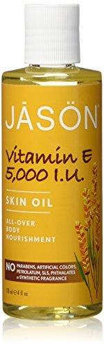 Vitamin E 5,000 IU Oil - All Over Body Nourishment Jason Natural Cosmetics 4 oz Liquid
