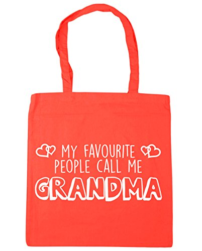Favourite Gym 42cm Call People Beach Coral HippoWarehouse litres 10 Bag Shopping My Tote Grandma x38cm Me ABqpp5W