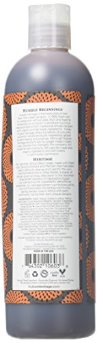 Nubian Heritage, Body Wash, African Black Soap, 3 Packs 13 fl oz 384 ml