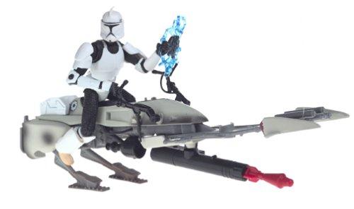 Army of the Republic Star Wars Clone Trooper with Speeder Bike