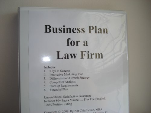 Business plan for a law firm fill in the blank business plan for a business plan for a law firm fill in the blank business plan for a law firm volume 1 law firm business plan nat chiaffarano mba amazon books accmission Gallery