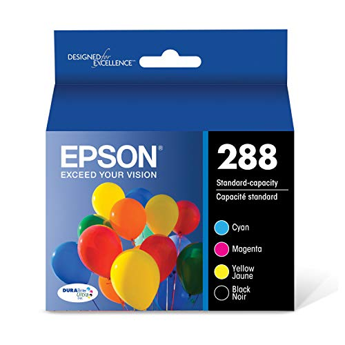 Epson T288120-BCS DURABrite Ultra Black and Color Combo Pack Standard Capacity Cartridge Ink (Best Price For Epson Ink Cartridges)