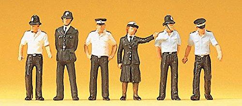 GAUGEMASTER CONTROLS LTD PREISER - British Police (x6) PR10371