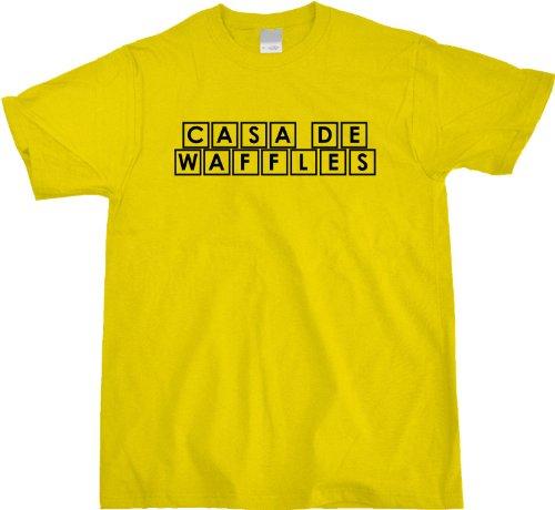 Casa de Waffles Unisex T-shirt Funny Spanish Take on the House of Waffle