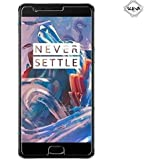 Sceva Present Full Screen Coverage Tempered Glass for OnePlus 3/Oneplus 3T  Transparent