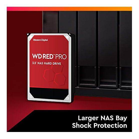 """WD Red Pro 4TB NAS Internal Hard Drive - 7200 RPM Class, SATA 6 Gb/s, CMR, 256 MB Cache, 3.5"""" - WD4003FFBX 41ZZ17GLcTL. SS555"""