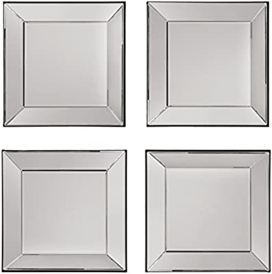 Amazon.com: OSP Designs 4 Piece Time Square Wall Set with Wide ...