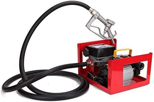 Ridgeyard 60L 3600 L//H POMPA OLIO Diesel Extractor Oil Transfer Pompa selbstansaugend Bio Olio combustibile Diesel Electric mete Ring 550 W 220 V /…