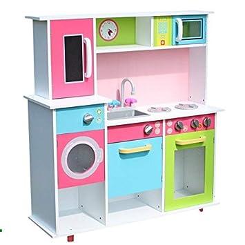 TikTakToo XXL Spielküche Kinderküche aus Holz Küche Kinder Spielzeug ...