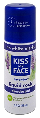Kiss My Face Deodorant Liquid Rock Roll On Lavender 3 Ounce (88ml) (2 Pack)