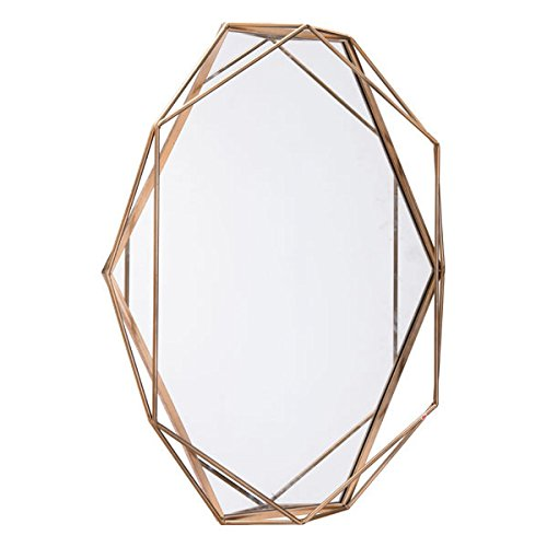 Zuo Octagonal Mirror, Antique by Zuo Modern