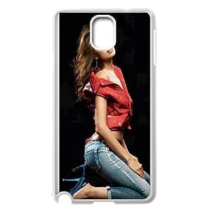 Irina Sheik Samsung Galaxy Note 3 Cell Phone Case White phone component RT_395197