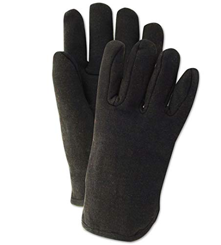 - MAGID Glove & Safety CH114T Fleece Jersey Glove, Large, Black