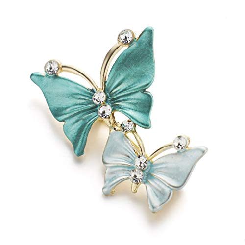 TZNBROCHS Brooches for Women Lady Alloy Crystal Rhinestones Brooch Pins Jewelry Boutonniere Gift 2