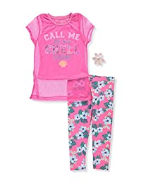 Star Ride Girls' 2-Piece Outfit with Hair Clip