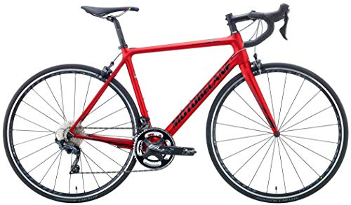 Motobecane 2019 Le Champion CF SL Shimano Ultegra 22 Speed Lightweight Road Bike (Lava Red, 52/54.5cm - 5'8