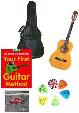 School guitarra zurdos starter pack 3/4 tamaño: Amazon.es: Instrumentos musicales