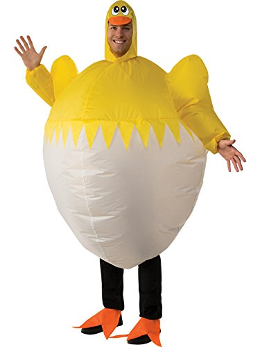 Rubie's Costume Co. Men's Inflatable Chick, As Shown, Standard
