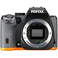 Pentax K-S2 20MP Wi-Fi Enabled Weatherized SLR Body Only (Black/Orange)