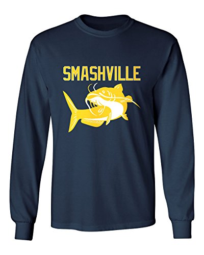 "Smashville Nashville ""Catfish"" Men's Long Sleeve T-Shirt – DiZiSports Store"
