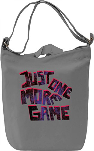 Just One More Game Borsa Giornaliera Canvas Canvas Day Bag| 100% Premium Cotton Canvas| DTG Printing|