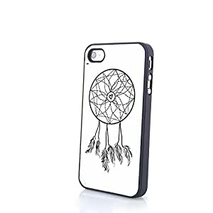 Generic Colorful Dream Catcher iPhone 4/4S Protective PC Cover Matte Hard Skin Case