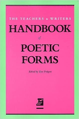 Handbook of Poetic Forms: Amazon.es: Padgett, Ron: Libros en ...