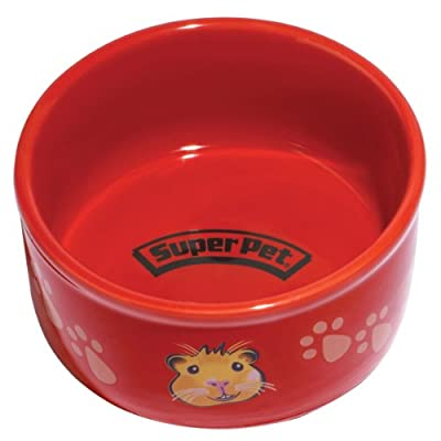 Kaytee Paw-Print PetWare Bowl, Colors Vary from Super Pet