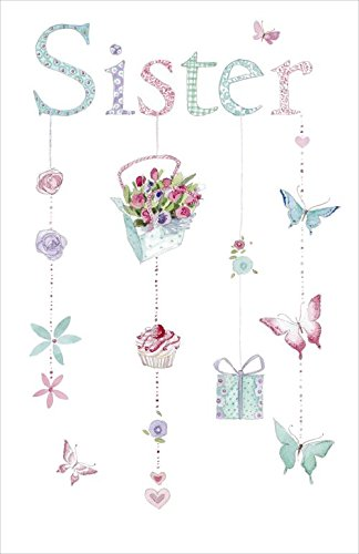 Amazon happy birthday sister greetings card office products happy birthday sister greetings card m4hsunfo