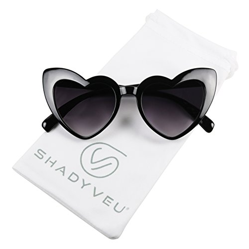 e43253fac0bfa ShadyVEU - Trendy Kids Heart Shaped Love Colorful Girls Toddlers Ages 2-6  Yrs. Oversize Sunglasses